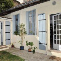 façade cabinet saint-cyprien, toulouse, réflexologie, Lilian Gautheron